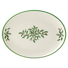 Lenox Holiday Holiday Melamine Oval Platter
