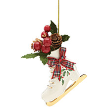 Lenox Holiday Skate Ornament