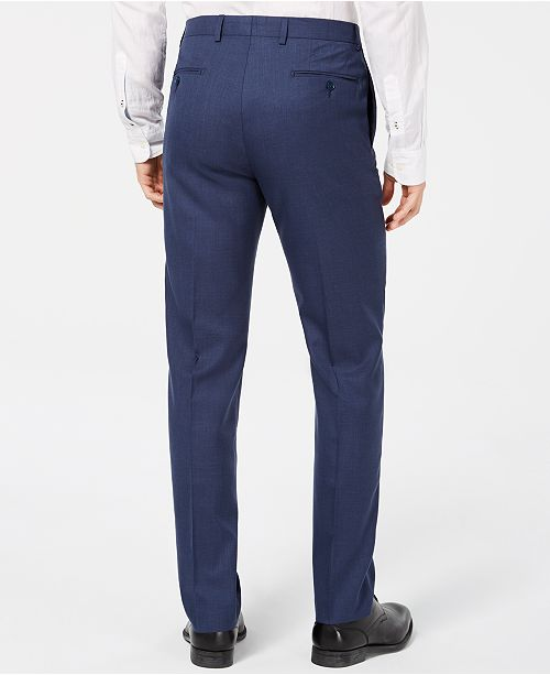1aa423fc56 Calvin Klein Men s Slim-Fit Solid Dress Pants - Pants - Men - Macy s