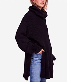 Free People Eleven Oversized Cowl-Neck Sweater