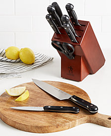 J.A. Henckels International Solution 10-Pc. Knife Set, Created for Macy's