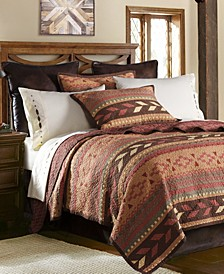Broken Arrow 3 Pc Full/Queen Quilt Set