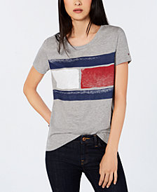 Tommy Hilfiger Brand-Logo T-Shirt, Created for Macy's
