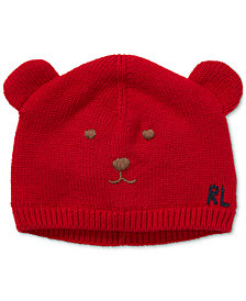Polo Ralph Lauren Baby Boys Embroidered Knit Hat