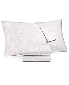 CLOSEOUT! Printed 4-Pc King Sheet Set, 300 Thread Count Hygro Cotton, Created for Macy's