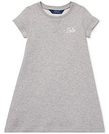 Polo Ralph Lauren Toddler Girls Embroidered French Terry Dress