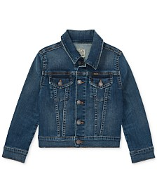 Polo Ralph Lauren Little Girls Denim Trucker Jacket