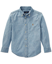 Polo Ralph Lauren Little Boys Cotton Chambray Shirt