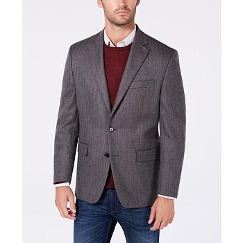 Ralph Lauren Men's Classic-Fit Herringbone Wool Sport Coat