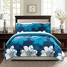 Woodside 3 Piece King Quilt Set