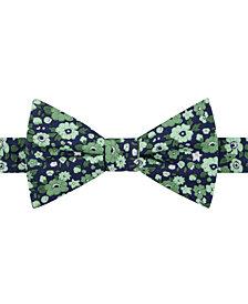 Tommy Hilfiger Men's Large Floral Pre-Tied Bow Tie