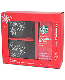 Starbucks Green Mug & Coffee Gift Set