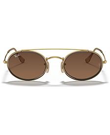 Sunglasses, RB3847N OVAL DOUBLE BRIDGE