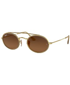 Ray-Ban Sunglasses, RB3847N OVAL DOUBLE BRIDGE