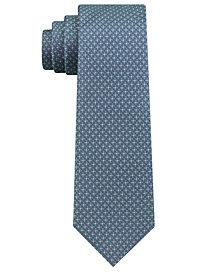 DKNY Men's Micro Texture Slim Silk Tie