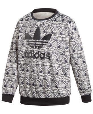 adidas zebra print jacket