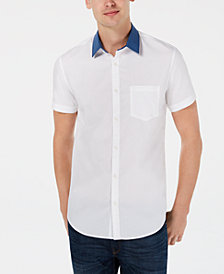 Calvin Klein Men's Contrast Collar Polo