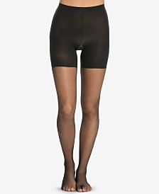 SPANX® Micro-Fishnet Mid-Thigh Shaping Tights
