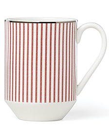 kate spade new york Laurel Street Collection Red Mug