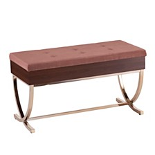 Rothley Tufted Lift-Top Storage Bench, Quick Ship