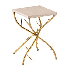 CLOSEOUT! Nymeria Branch Accent Table, Quick Ship