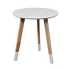 Neelan Round Accent Table
