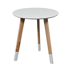 Neelan Round Accent Table, Quick Ship