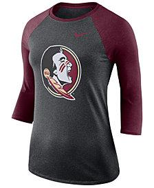 Nike Women's Florida State Seminoles Dri-Blend Raglan T-Shirt