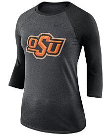 Nike Women's Oklahoma State Cowboys Dri-Blend Raglan T-Shirt