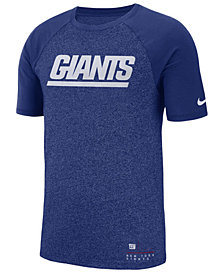 Nike Men's New York Giants Marled Raglan T-Shirt