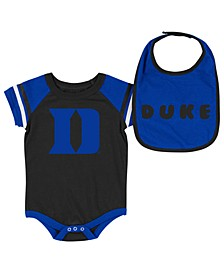 Duke Blue Devils Onesie & Bib Set, Infants (0-9 Months)