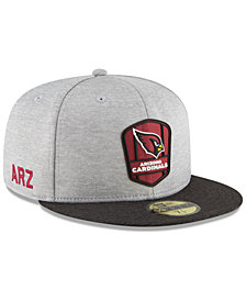 New Era Boys' Arizona Cardinals Official Sideline Road 59FIFTY Fitted Cap