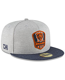 New Era Boys' Chicago Bears Official Sideline Road 59FIFTY Fitted Cap