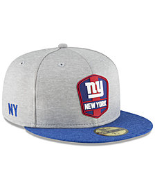 New Era Boys' New York Giants Official Sideline Road 59FIFTY Fitted Cap