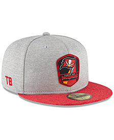 New Era Boys' Tampa Bay Buccaneers Official Sideline Road 59FIFTY Fitted Cap