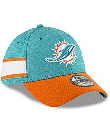 New Era Boys' Miami Dolphins Sideline Home 39THIRTY Cap