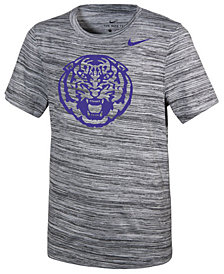 Nike LSU Tigers Velocity Travel T-Shirt, Big Boys (8-20)