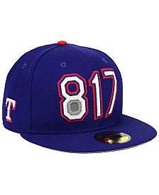 New Era Texas Rangers Area Code 59FIFTY FITTED Cap