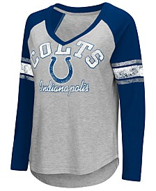G-III Sports Women's Indianapolis Colts Sideline Long Sleeve T-Shirt