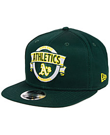 New Era Oakland Athletics Banner 9FIFTY Snapback Cap