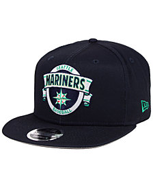 New Era Seattle Mariners Banner 9FIFTY Snapback Cap
