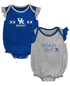 Outerstuff Kentucky Wildcats Homecoming Creepers 2 Pack, Infants (0-9 Months)