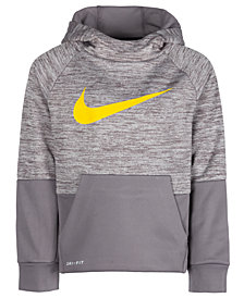 Nike Little Boys Therma GFX Colorblocked Hoodie