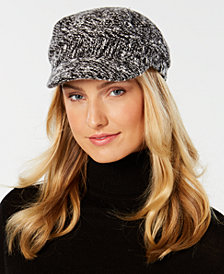 Nine West Tweedy Flat Newsboy Cap