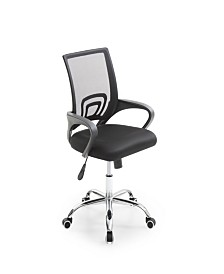 Mesh Back Office Chair with Chrome Base