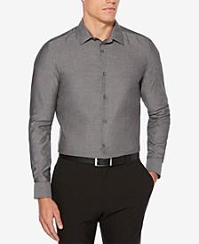 Men's Slim-Fit Dobby Shirt