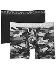 Michael Kors Men's 2-Pk. Stretch Factor Boxer Briefs