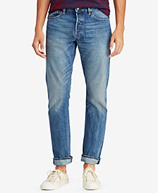 Polo Ralph Lauren Men's Varick Slim Straight Cotton Jeans