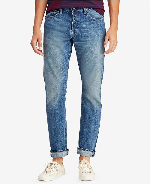 eaf09cb69 Polo Ralph Lauren Men s Varick Slim Straight Jean   Reviews - Jeans ...