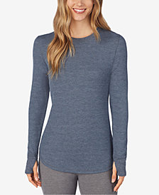 Cuddl Duds Long-Sleeve Waffle Thermal Top
